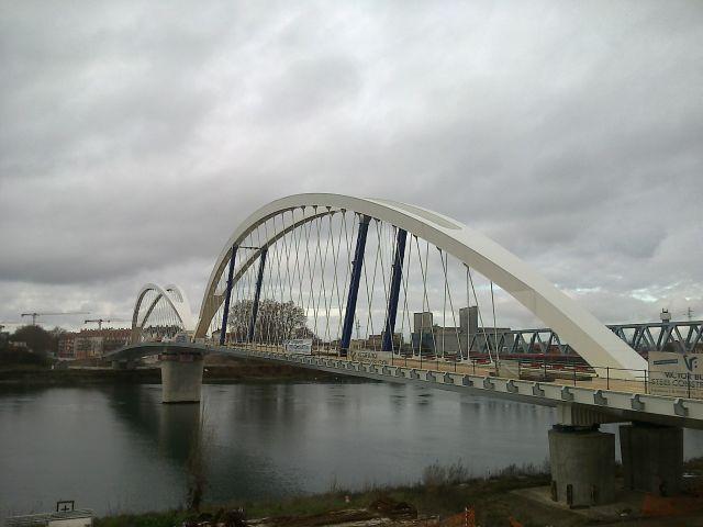 Puente de Europa. Estrasburgo