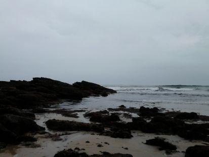 Playa de Luaña y...las algas