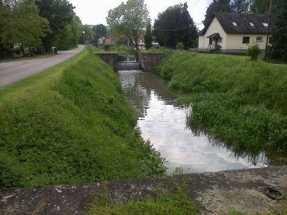 Canal de la Bruche. Wolxheim
