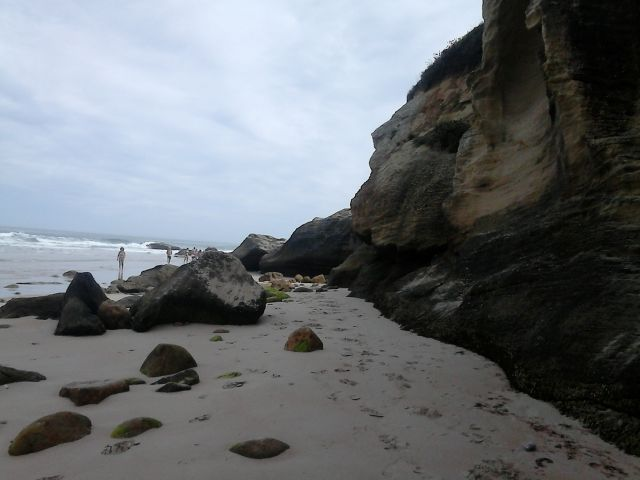 Playa de Cóbreces, La Peñona