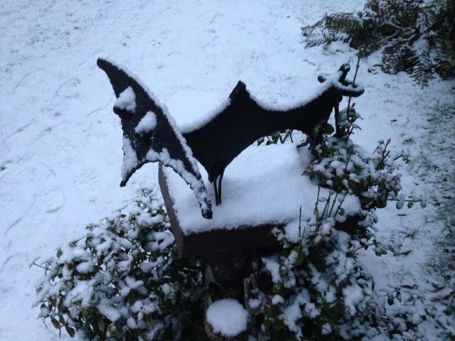 El torito bajo la nieve