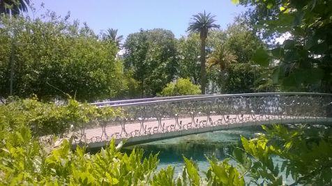 el puente romántico Jardines de Pereda Santander