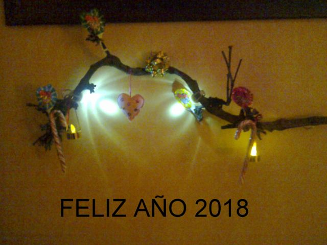 Feliz año 2018 a todos los usuarios